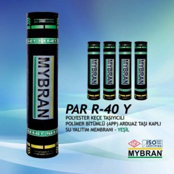 Mybran Yeşil Arduaz Taşlı Keçe Taşıyıcılı PAR40-Y Membran (-10C)