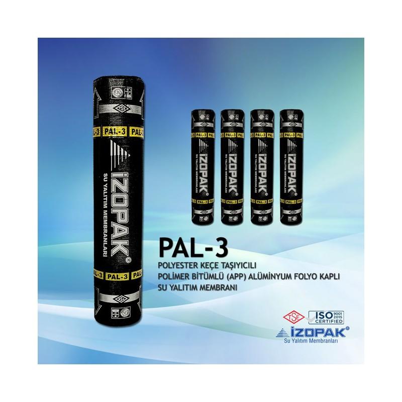 İzopak Folyolu Keçe Taşıyıcılı PAL-3 Membran (-10C)