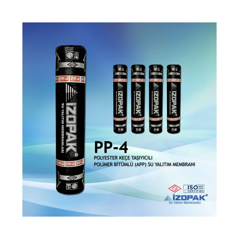 İzopak Polyester Keçe Taşıyıcılı PP-3 Membran (-10C)