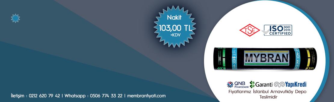 Mybran Polyester Keçeli PP-3 Membran (-10C)